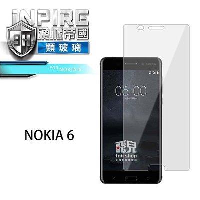 【飛兒】iNPIRE 硬派帝國 NOKIA 6 極薄 保護貼 類玻璃 9H PET 0.12mm (K)