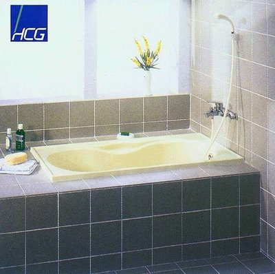 【工匠家居生活館 】HCG 和成衛浴 F6045 塑鋼浴缸 SMC浴缸【 無牆 】137.5*72*56cm 浴缸