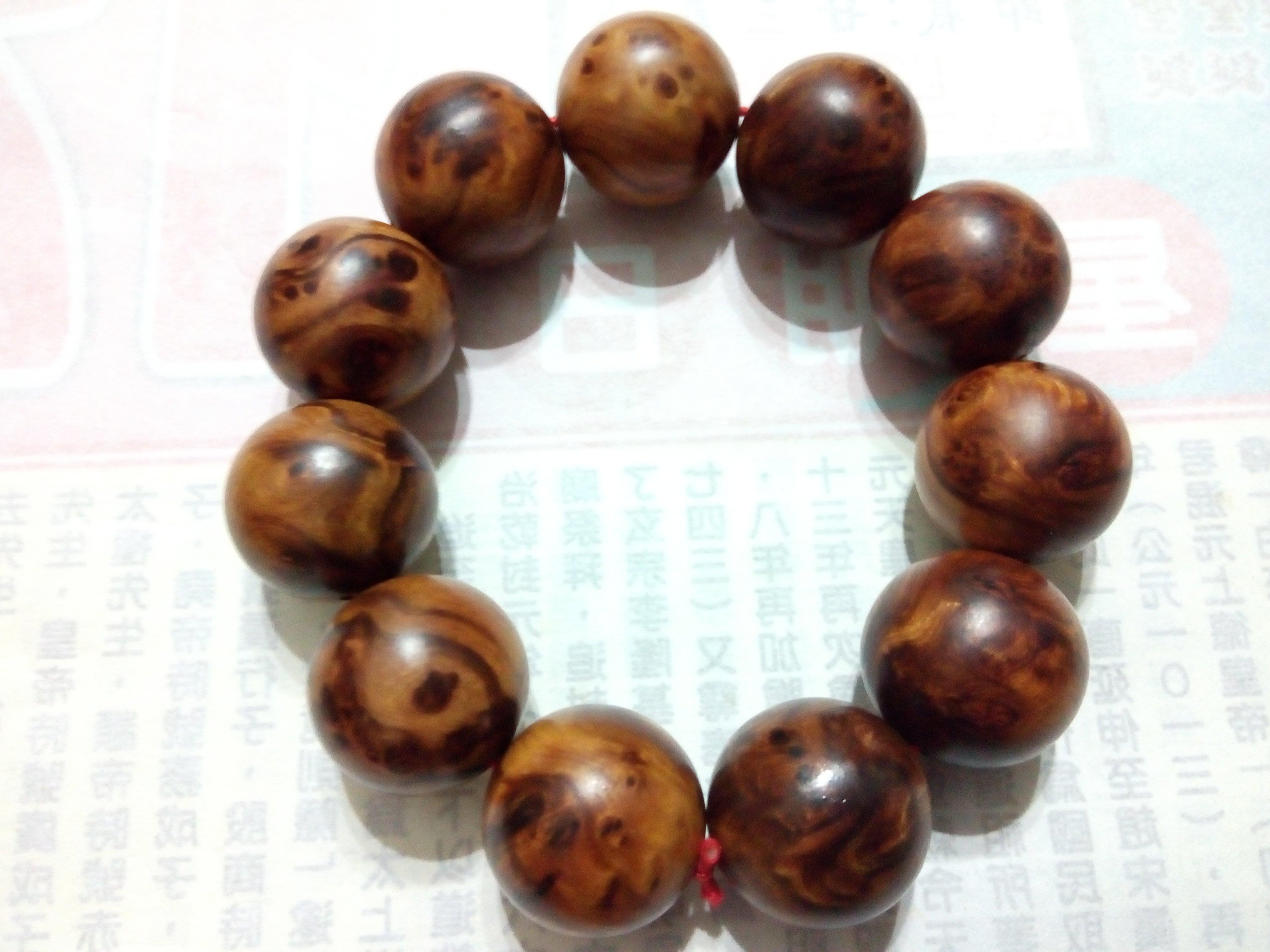 【九龍藝品】肖楠釘子瘤     油酯豐厚油亮 ~值得珍藏~ 20mm*11顆    (9)