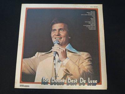 【柯南唱片】Pat Boone帕特·布恩//Best De Luxe >>台版LP