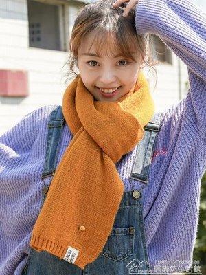 圍巾女秋冬季韓版百搭軟妹毛線針織學生原宿保暖加厚兩用少女圍脖