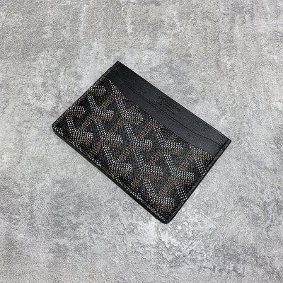 Goyard 卡夾 黑色《精品女王全新&二手》