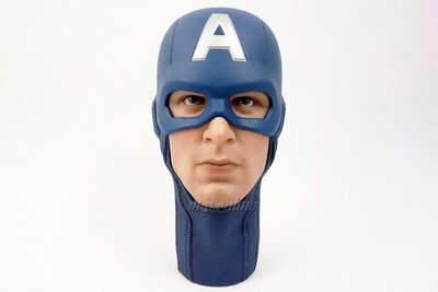 Hottoys Hot Toys Avengers Captain America mms174 散件 - 頭