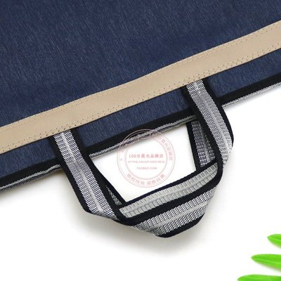 DLD-766手提文件袋A4辦公拉鏈袋大容量雙層資料袋公文包【每個規格價格不同】
