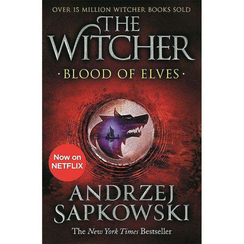 獵魔人1 Blood of Elves Witcher Saga 1 英文原版 巫師1 精靈血 Andrzej Sapk