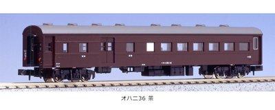 [玩具共和國] KATO 5077-1 オハニ36 茶