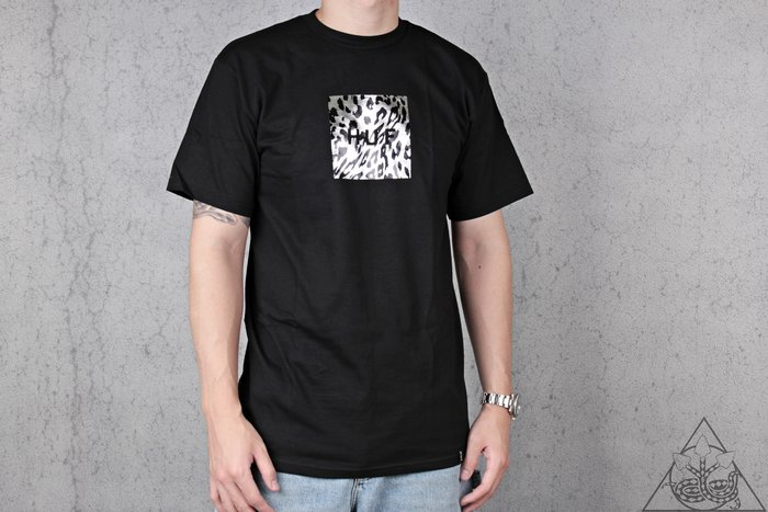 【HYDRA】HUF Panthera Box Logo T-Shirt 豹紋 短T【TS00796】