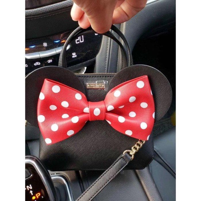 ♥ 小花日韓雜貨 ♥ -- 免運新款小包女包甜美可愛迪士尼米妮包手提斜背包Kate SPADE NEW YORK 代購