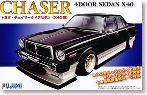 富士美汽車模型 1 24 Toyota Chaser 4門 Sedan Type X40 03875