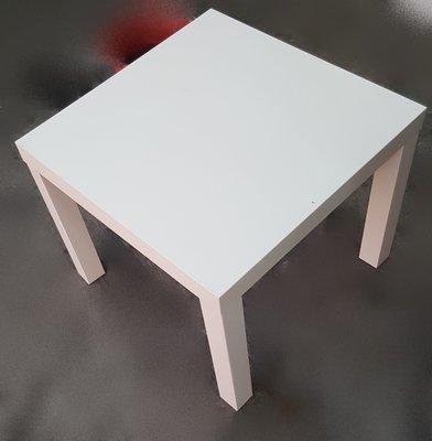 宏品二手家具館 中古傢俱拍賣 A70813~白面方型小茶几* 客廳沙發桌 角落桌 矮桌 泡茶桌 邊桌 2手傢俱拍賣