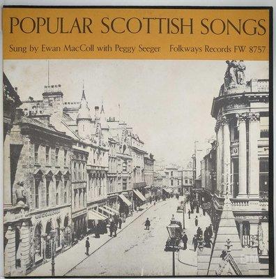 黑膠唱片 Ewan MacColl With Peggy Seeger - Popular Scottish Songs
