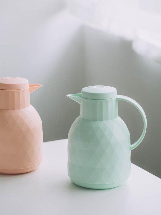 預售款-LKXD-馬卡龍色保溫壺 家用便攜大容量保溫瓶學生宿舍開水瓶熱水壺