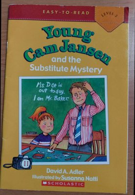 Young Cam Jansen and the Substitute Mystery (初級讀本)偵探故事