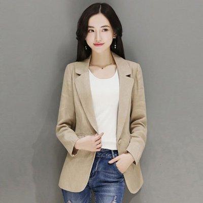衣貝拉【28603】秋冬 OL氣質長袖西装外套《3色》