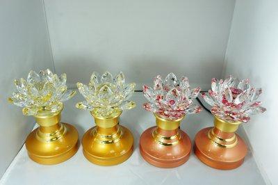 水晶蓮花燈5.5吋