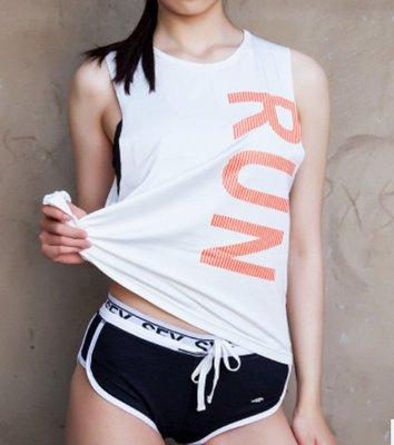 愛運動~健身寬鬆性感罩衫背心/透氣排汗速乾彈力舒適/瑜伽健身綜合訓練跑步運動背心   R2679