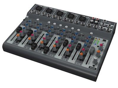 《民風樂府》Behringer 耳朵牌 XENYX 1002B MIXER 混音器 可裝電池 新竹市