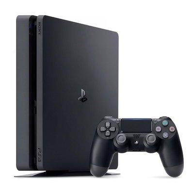 【二手主機】SONY PS4 SLIM 新版 2218B 500G 極致黑 附原廠無線手把+HDMI線+電源線+USB線
