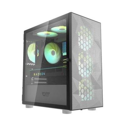 【電腦週邊】darkFlash DLM21 Mesh 機殼 不含風扇(白 粉紅 綠色 )_KT