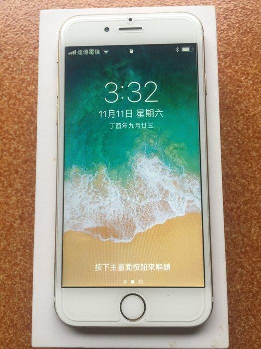 Apple iPhone 6  4.7寸 64G 金色 無碰傷 全正常