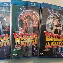 Back to the Future 1、2、3 回到未來(全新)blue ray 藍光碟