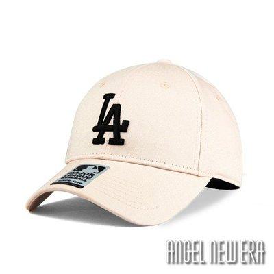 【PD帽饰】【MLB Old Fashioned Cap】道奇 LA 米白 老帽 鴨舌 棒球帽【ANGEL NEW ERA 】