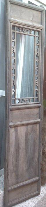 【黑狗兄】老窗花門雕花門,木門,木窗,隔扇,屏風一件----A5-06