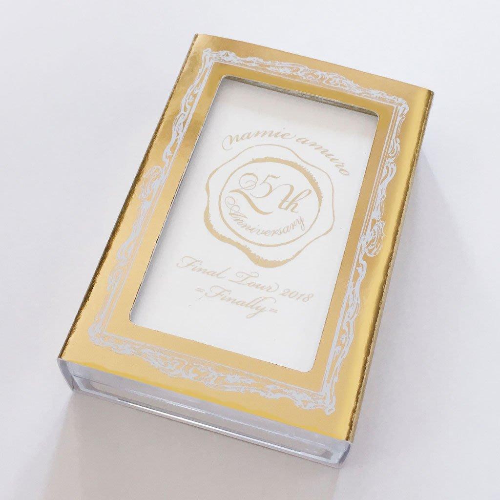安室奈美惠代購「namie amuro Final Tour 2018 ~Finally~」25週年撲克牌 現貨