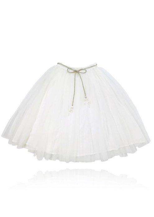 ♡NaNa Baby♡ 荷蘭DOLLY正品【公主雪紡長裙 - 天使白】