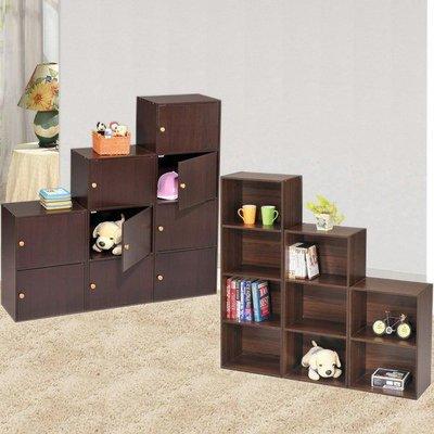三層空櫃/三層櫃/三層收納櫃 多色可選書櫃書架開放展示櫃