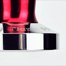Tiamo咖啡生活館【HG3710 R】Tiamo C-Ripple C波紋不鏽鋼填壓器-附底墊-58mm-紅