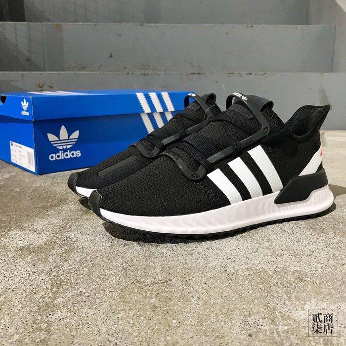 (貳柒商店) adidas Originals U_Path Run 男款 黑色 黑白 復古慢跑鞋 休閒 G27639