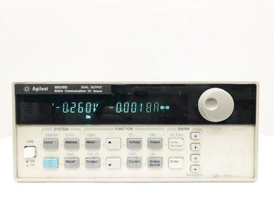 Agilent 66319D 雙重輸出行動通訊直流電源供應器