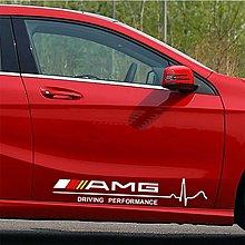 賓士車身貼 AMG貼紙 BENZ車身標誌 對貼C300 CLA E300 W205