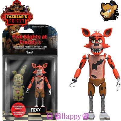 現貨☆ ╮美國Happy購╭☆Five Nights at Freddy's 午夜熊 五夜玩具熊 5吋公仔組 Foxy