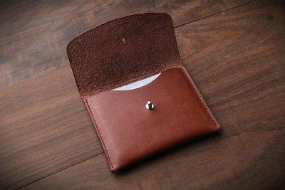 [NS手工皮件] 卡片夾、名片夾、短夾 (免費打印)