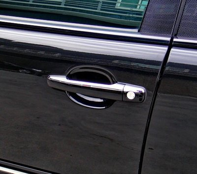 金螃蟹賓士 E W210 鍍鉻車門把手飾蓋 E200 E220 E280 E300 E320 E55 AMG 改裝 精品