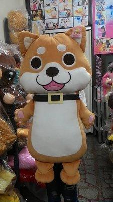 翔寶貝娃娃~可愛柴犬~柴犬娃娃~大柴犬72公分~狗造型娃娃~小狗~柯基玩偶~柴犬長枕可繡字~生日禮物~情人節