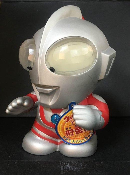 A-9櫃: ULTRAMAN SOUND BANK 超人力霸王 音效存錢筒 奧特曼聲音銀行 天富玩具店