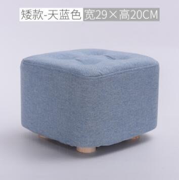 全店免運·布藝板凳沙發凳實木茶幾凳矮凳zg 【摩登街頭】