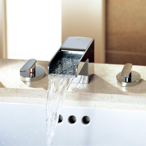 《101衛浴精品》BETTOR 瀑布式出水 泉瀑 三件式 面盆龍頭 FH 8255C-653 歐洲頂級陶瓷閥芯【免運費】