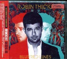 *還有唱片行* ROBIN THICKE / BLURRED LINES 二手 Y7376