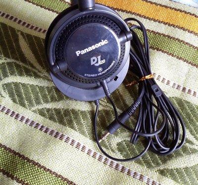 二手PanasonicDJ頭戴耳機 DJ120*有一邊聽唔到 包郵