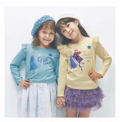 Co媽日本精品代購 預購 日本迪士尼 小朋友 純綿  T恤 圓領T恤 90~140