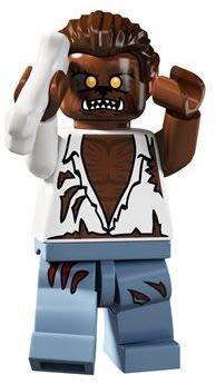 絕版品【LEGO 樂高】玩具 積木/ Minifigures人偶包系列: 4代 8804 單一人偶: 狼人