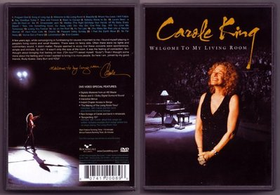 音樂居士#Carole King - Welcome to My Living Room () DVD