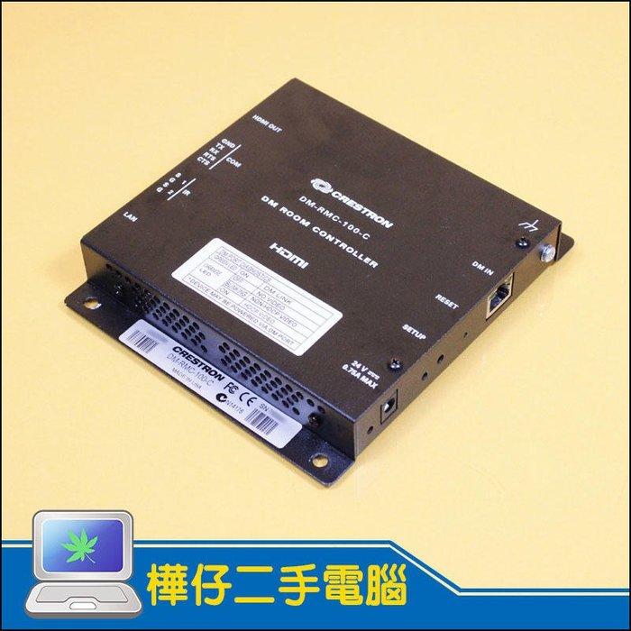 【樺仔二手電腦】CRESTRON DM-RMC-100-C Digital Media 8G+ Receiver DM