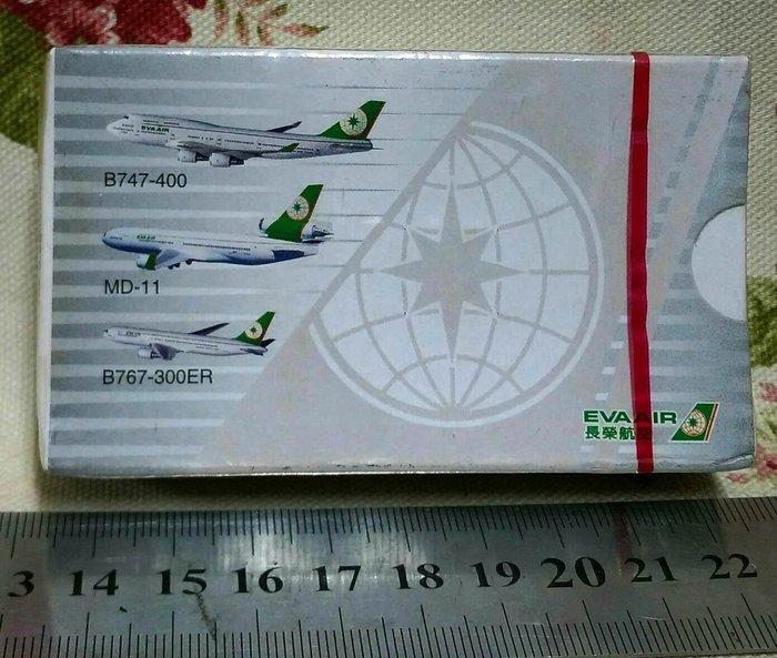 龍廬-自藏出清航空公司撲克牌~EVA AIR長榮航空公司台灣之翼撲克牌/只有1副