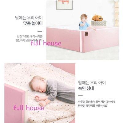 新春 特價 韓國直送 正品代購 Caraz 城堡圍欄 原裝 嬰兒床 地墊 嬰兒床 小床 遊戲墊高CP值 新色 粉紅 粉藍