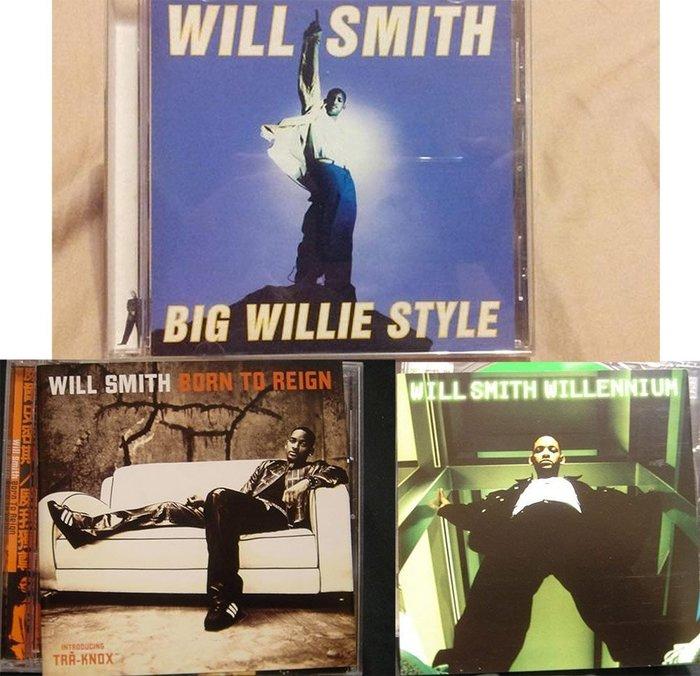 威爾史密斯 Will Smith/ Big Willie Style+Born to Reign+Willenn三張專輯